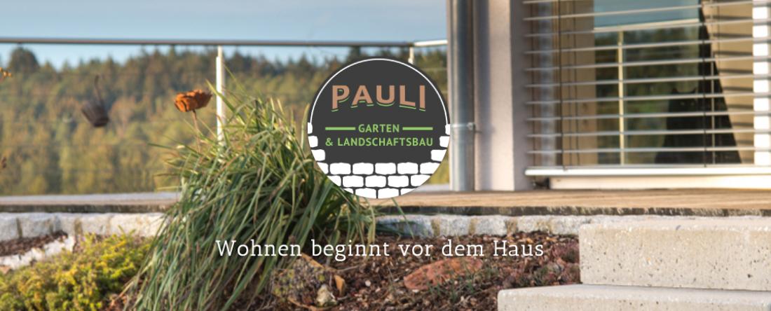 Website Entwurf und Gestaltung von Garten- und Landschaftsbau Pauli durch woiddesign.